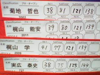 日本オープン4<br />  r